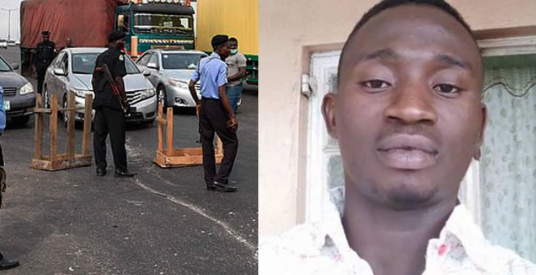Drunk Policeman Kills Businessman At Iwo Road In Ibadan.