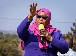 Tanzania swears in Samia Suluhu Hassan as first female president  Across East Africa